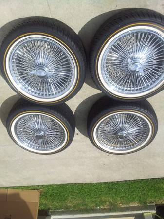 4 - 24 Dayton w tires $250 per tire - $1000 (Baton Rouge)