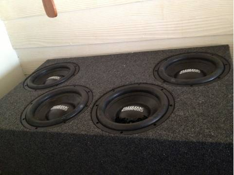 Sundown audio subs an (Hammond)