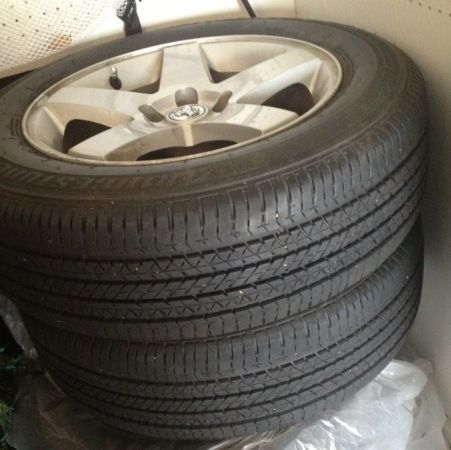 4 Tires and Rims for Dodge Charger - $400 (Hammond, LA)