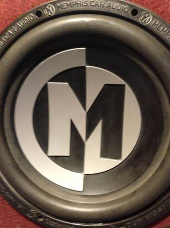 2 Memphis 12 subs and 1100 watt alphasonik - $300 (Livingston,La.)