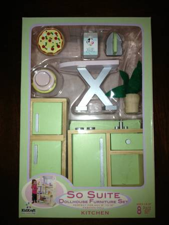 Kidkraft So Suite Dollhouse Furniture - Kitchen - $20 (Baton Rouge)
