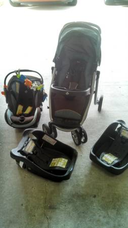 Aerolite Premiere Travel stroller and car seat - $125 (Gonzales)