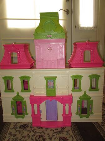 Fisher-Price Loving Family Dream Dollhouse - EUC -   x0024 45  Gonzales  LA