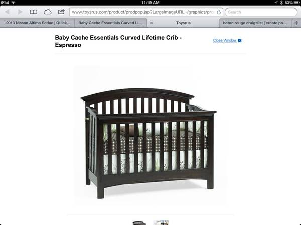 Baby cache crib mattress for sale