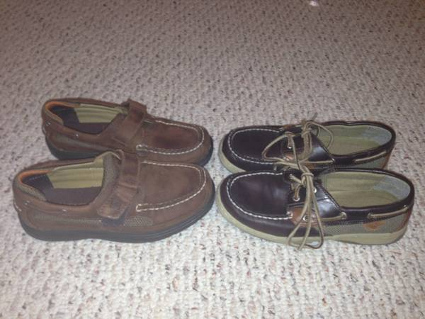 Boy s Sperry Shors Sz 1 5 W and sz 1 -   x0024 15  Baton Rouge