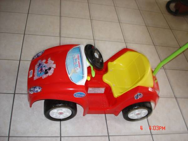 Power Wheels Mickey Mouse Club House Tot Rod - $50 (Baton Rouge)