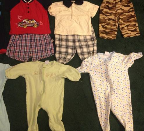 21 Piece Lot Baby Boys Size 3 6 Months -   x0024 25  baker