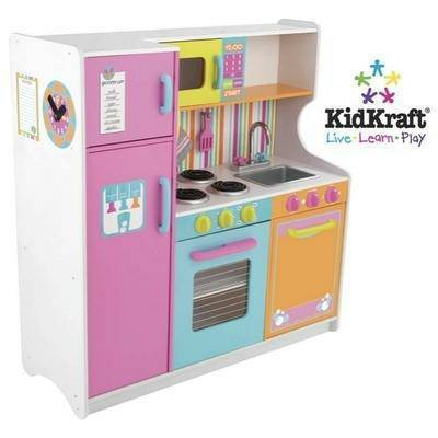 KidKraft 53100 Deluxe Big and Bright Toy Kitchen - $100 (Baton Rouge, LA)