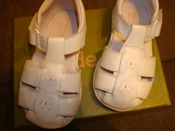 White Stride Rites, Toddler 6.5 and 7 - $10 (Zachary)