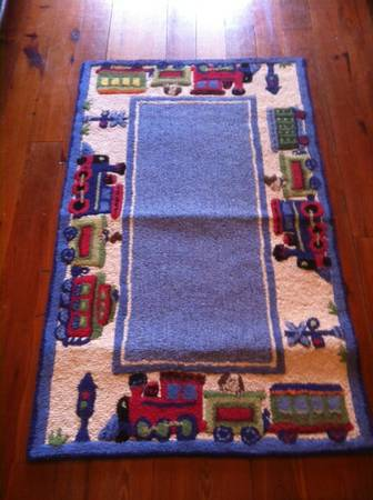 Pottery Barn Train Picture For Sale