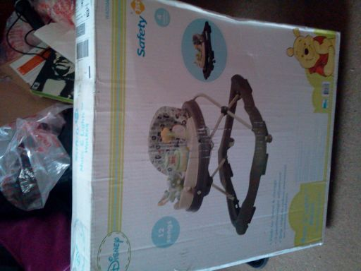 Safety First Disney music lights Walker still in box - $40 (Livingston)