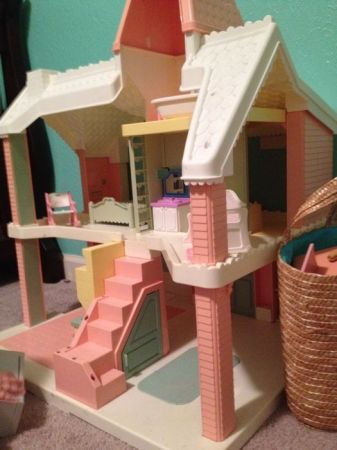 Vintage Playskool Dollhouse For Sale