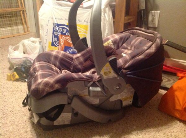 Eddie Bauer Infant Car Seat with Base - $50 (Central)