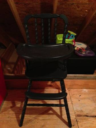 Vintage Jenny Lind High Chair - $65 (LSUCollege Drive)