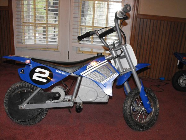 Kids MX350 Razor Electric Bike - $150 (Livingston)