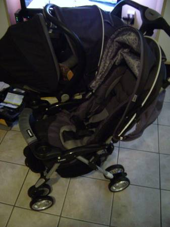 Combi Twin Sport Double Stroller Travel System and lots of other items - $200 (United States)