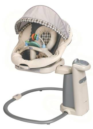 Graco SweetPeace Infant Soothing Swing - $100 (Central)