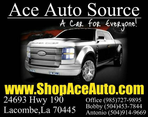 OVER 120 CARS,TRUCKS,VANS SUVs to Choose From (AceAutoSource.com)