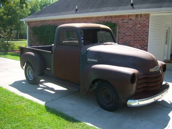 1951 Chevy pickup project truck - $4000 (prairieville)