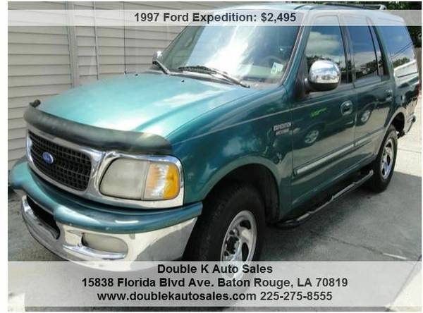 1997 FORD EXPEDITION XLT - $2495 (DOUBLE K AUTO SALES )