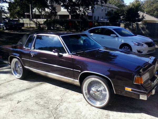 1988 cutlass, monte carlo,caprice  on dayton and vouges - $7000 (La)