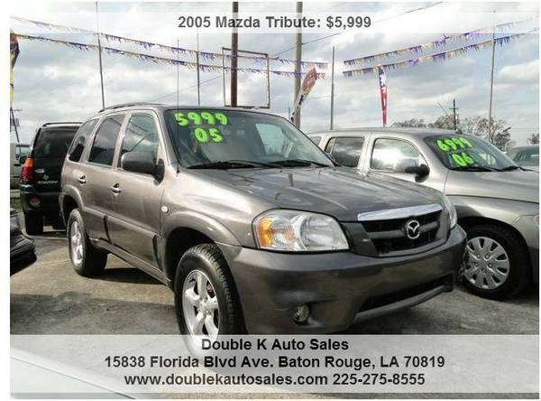 2005 MAZDA TRIBUTE SUV - $5999 (DOUBLE K AUTO SALES )