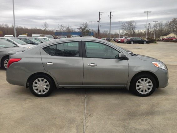 2013 Nissan Versa S model brand new - $12780 (Price LeBlanc Nissan)