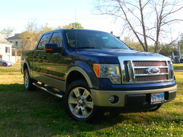 2010 Ford F150 2WD SuperCrew LARIAT - $26800 (New Orleans)