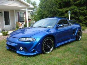 ECLIPSE MUST SEE 1998 w body kit - $4500 (Slidell LA)