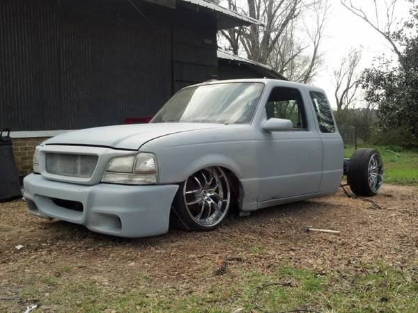 bagged ford ranger - $1800 (mccomb ms)