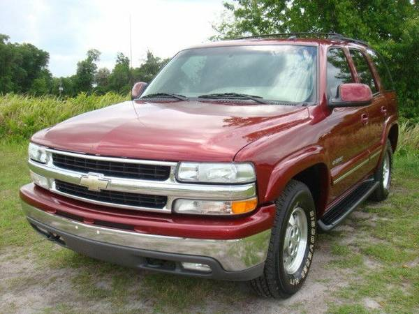 SELLING2002 Chevrolet Tahoe - $1990