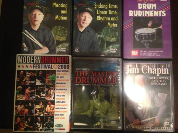DRUM DVDS  MUST HAVE  -   x0024 30  BATON ROUGE