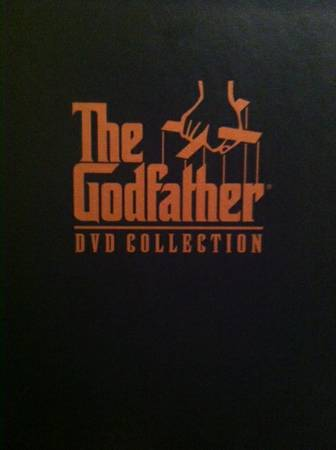 The Godfather DVD collection- 5disc set -   x0024 30