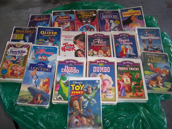 VHS Movie Tapes - New in Wrapper -   x0024 2  Baker  LA