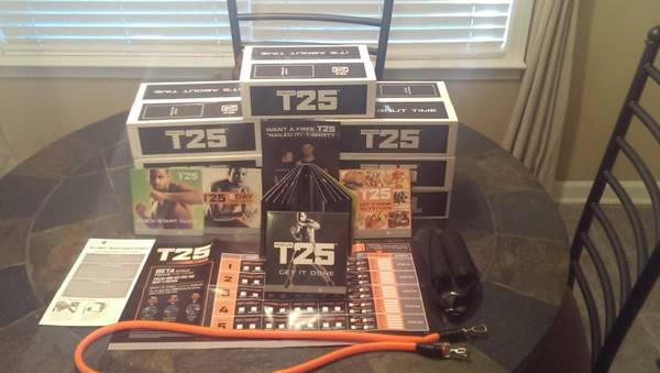 Brand new unopened T-25  Insanity              -   x0024 50  Baton Rouge and Surrounding