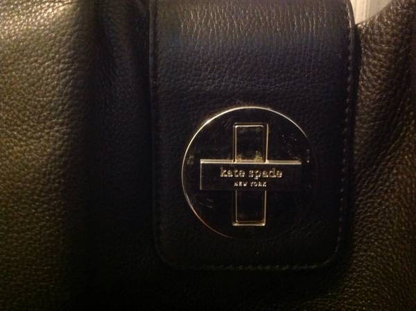 Genuine Kate Spade butter-soft, classic black bag - x0024130 (Prairieville)