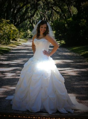 Alfred Angelo wedding dress for sale - $350 (Baton Rouge )