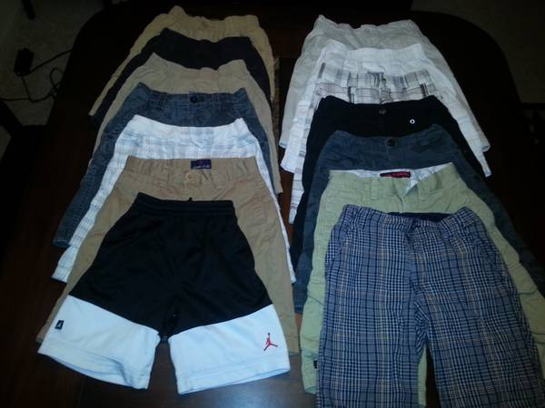 Sz 6-10 Wardrobe Lot- Boys Shirts, Polos, Shorts, Pants, Shoes, Etc.  - $125 (Baton Rouge - Towne Center)