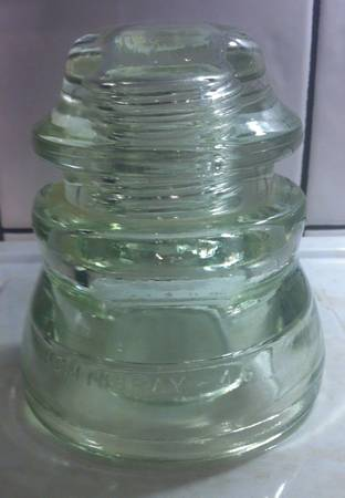 2 - Hemingray Glass Insulators 42 and 45 - x00243 (Denham Springs)