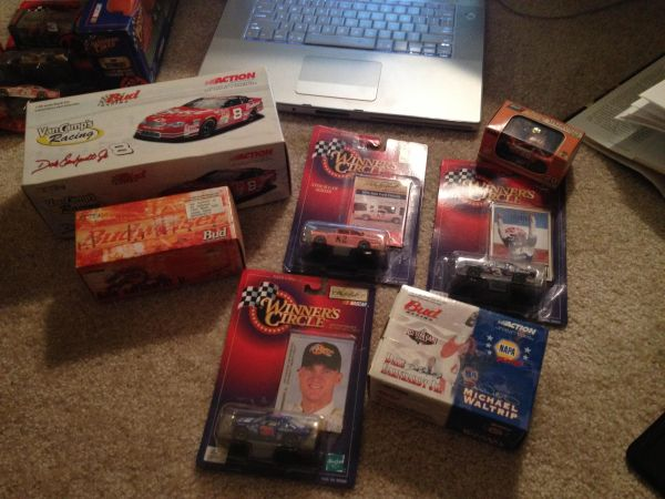 NASCAR Diecast Lot of Dale Earnhardt, Dale Jr, etc - $1 (South Baton Rouge)