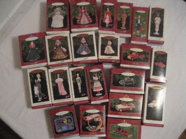 22 Hallmark Barbie Ford Chevrolet GMC Ornaments - $125 (Denham Springs)