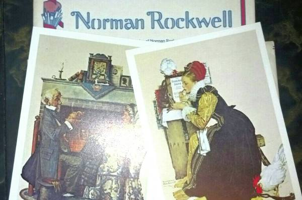 Norman Rockwell 5X7 Lithographs - $3 (Montpelier)