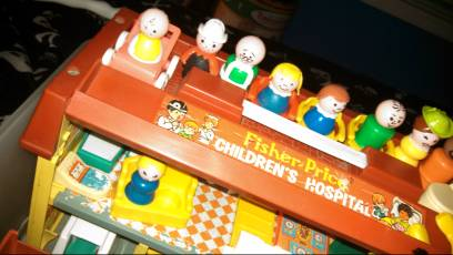 vintage Fisher Price little people huge bundle - $280 (Gonzales)