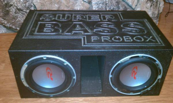 Subs, Box, and Amp - $200 (Baton Rouge)
