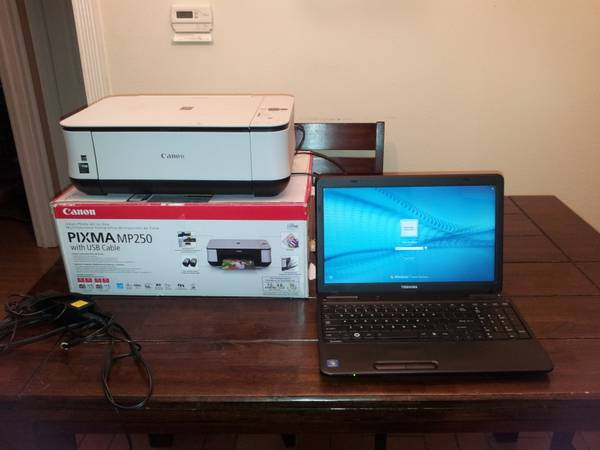 NEED TO SELL ASAP TOSHIBA SatelliteC655D-S5136 AND FREE PRINTER - $17 - $175 (LSU)