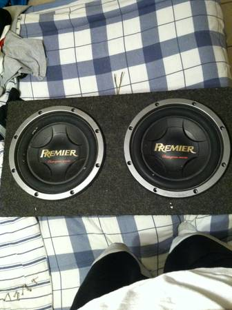 2 12 Pioneer Premier Chion Series Subs in Box - $175 (Baton Rouge Near Sherwood)