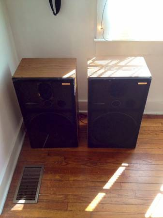 Vintage Pioneer Speakers CS-G403 - $75 (Beauregard Town)