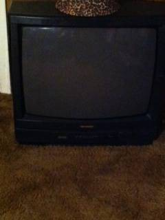 SHARP 27 INCH TV - $25 (BAKER)