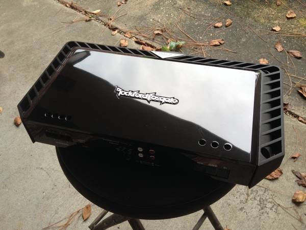 Rockford Fosgate T1500-1bdCP Amplifier - $450 (Baton Rouge)