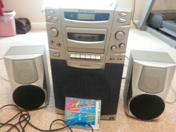 Karaoke machine - $50 (Dutchtown)